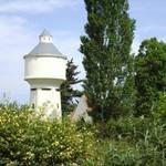 ehemaliger Wasserturm Reuden, 2003 umgebaut zur Vogelnist- und -brutstätte