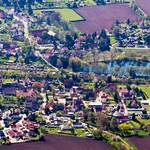 Rehmsdorf von oben (Foto: Corina Trummer) [(c) Gemeinde Elsteraue]