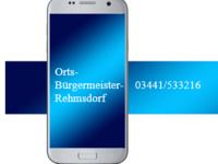 Ortsbürgermeister Rehmsdorf