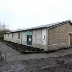 Bauarbeiten am KZ-Außenlager Wille [(c): Gemeinde Elsteraue]